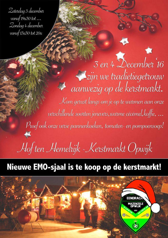 Emo Kerstmarkt Opwijk